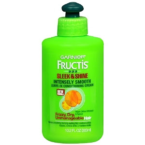 Garnier, Garnier Fructis, Garnier Fructis Sleek & Shine Intensely Smooth Leave-In Conditioning Cream, leave in conditioner, hair, hair products, hair treatment