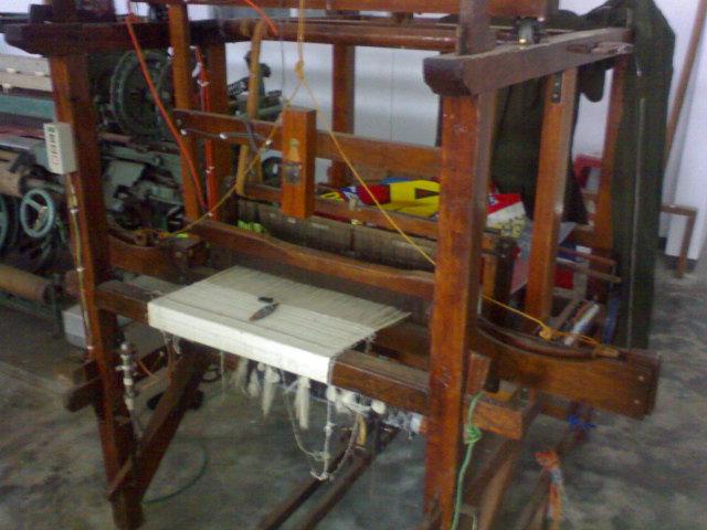 modifikasi mesin tenun dengan pneumatic