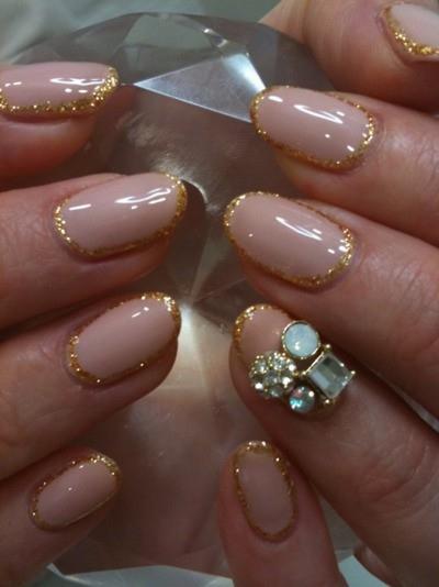 Nude nail design pccala 2013 nail art designs prinsesfo Gallery