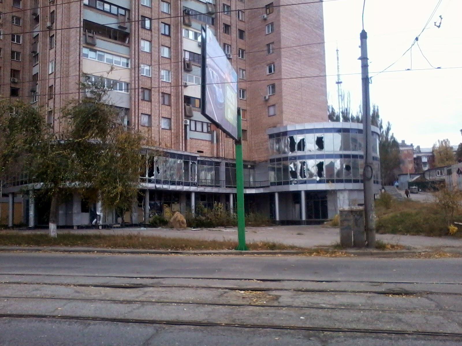 Фото разрушений в центре луганска 3