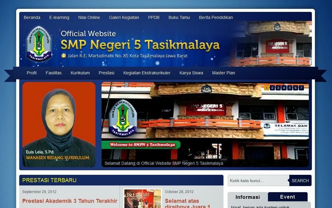 Official Website SMPN 5 Tasikmalaya