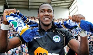 """Hugo Rodallega: """"En mayo me voy del Wigan"""""""