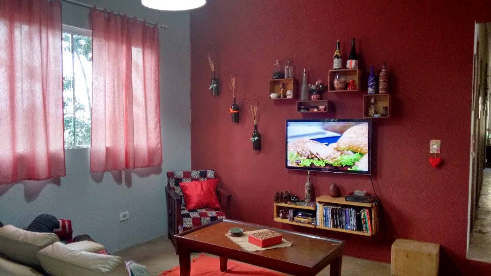 Almofadas Para Sala De Tv ~ Este lado é da sala de TV, que fica mais próxima a cozinha Acho que