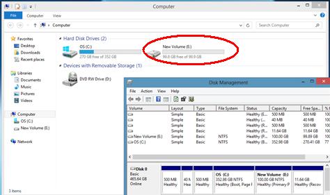 INFO TERBAIK PALING POPULER: Cara memPartisi Hardisk windows 7