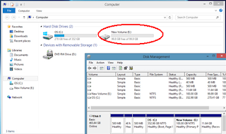 Cara memPartisi Hardisk windows 7