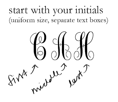 free monogram template - 3 letter monogram template video search engine at