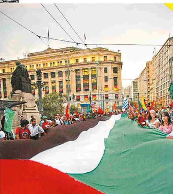 Ato histórico em São Paulo pelo Estado da Palestina Já - foto 1