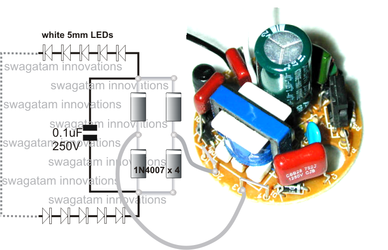 Converting Dead Cfl Into Led Tubelight on transformer diagrams