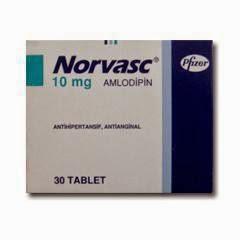 Dosis Obat NORVASC Tablet