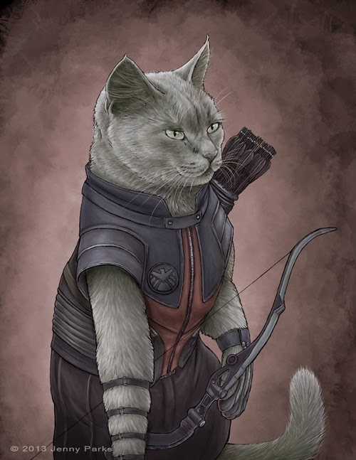 08-Hawkeye-Jenny-Parks-Drawing-Animals-Superhero-Cats-Scientific-Illustrator-www-designstack-co