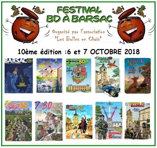 Festival BD à Barsac
