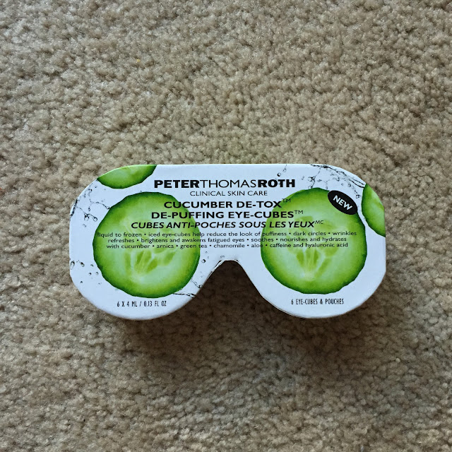 Peter Thomas Roth, Peter Thomas Roth Cucumber De-Tox De-Puffing Eye Cubes, eye cream, eye treatment, skincare, skin care