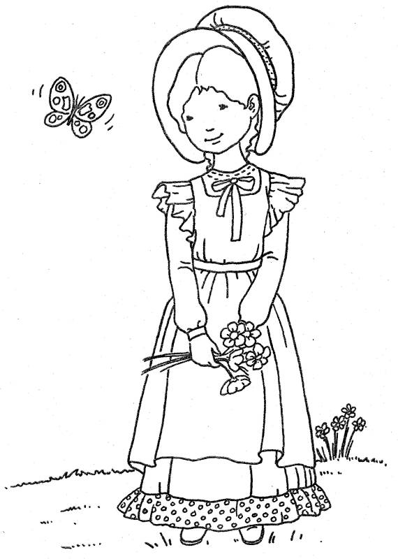holly hobbie coloring pages - photo#20