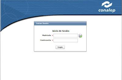 Consulta calificaciones SAE CONALEP 2012