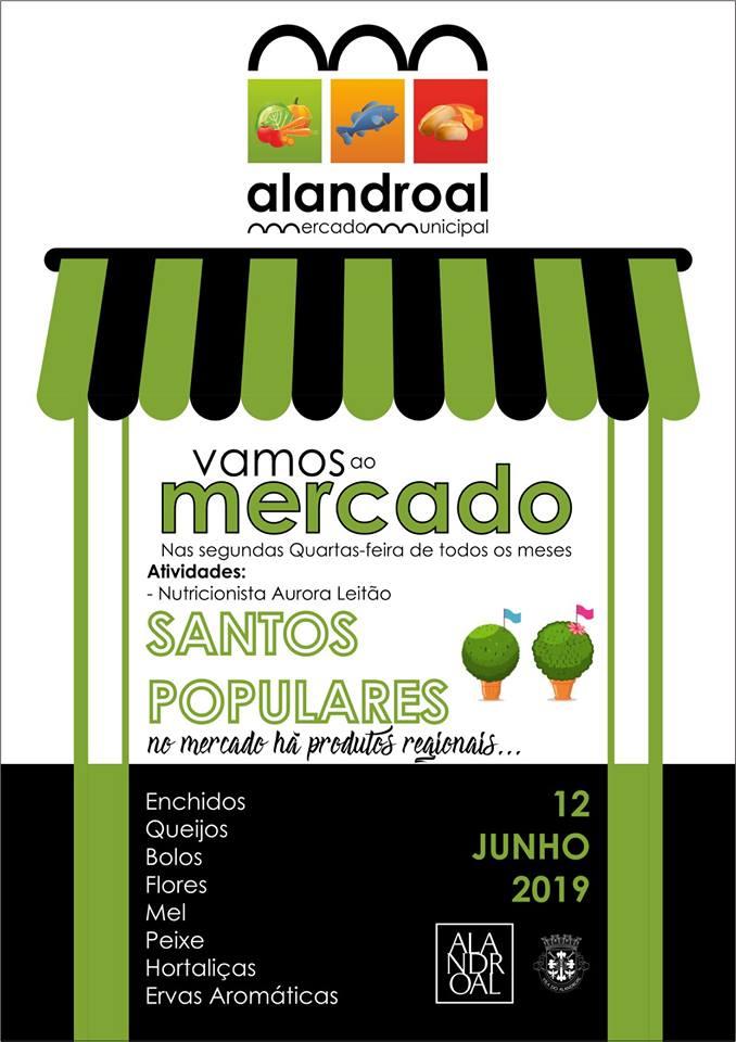 Vamos ao Mercado - 08 de Maio de 2019 - Mercado Municipal de Alandroal.