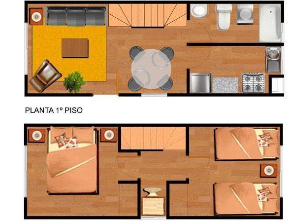 Planos de casas modelos y dise os de casas planos de Modelo de casa con local comercial