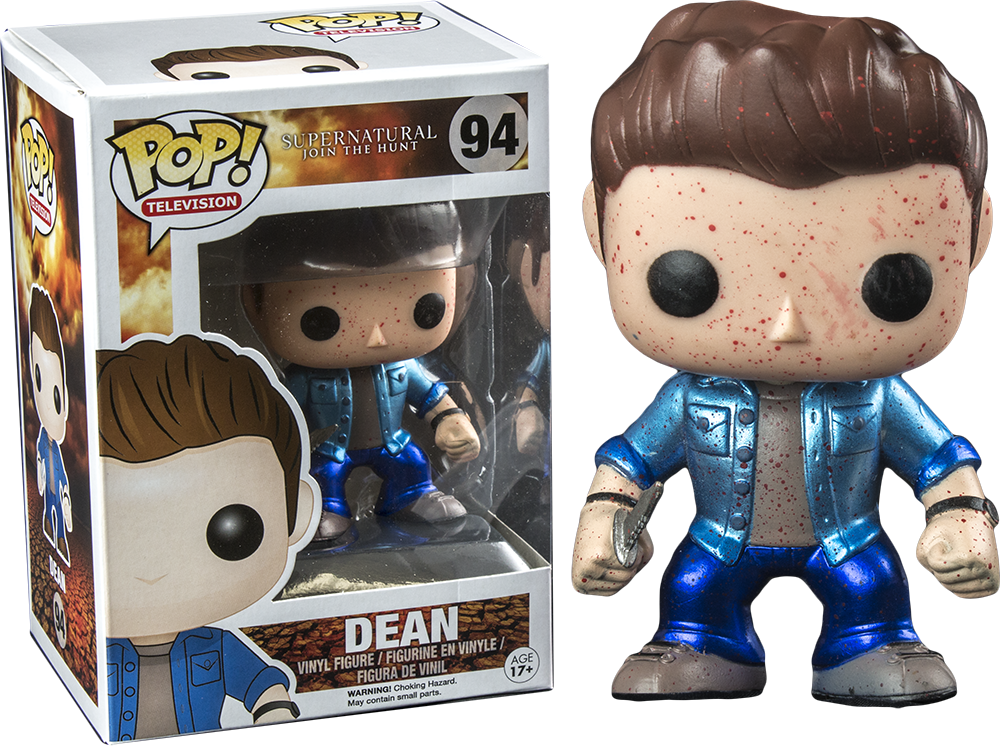 Funko Pop! Metallic Blood Splatter Dean Supernatural