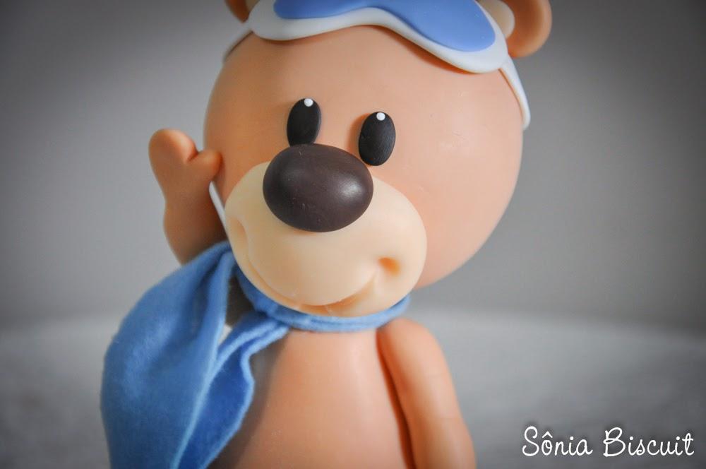 Ursinhos Aviadores Biscuit Aniversário Urso Aviador Ursos Decoração