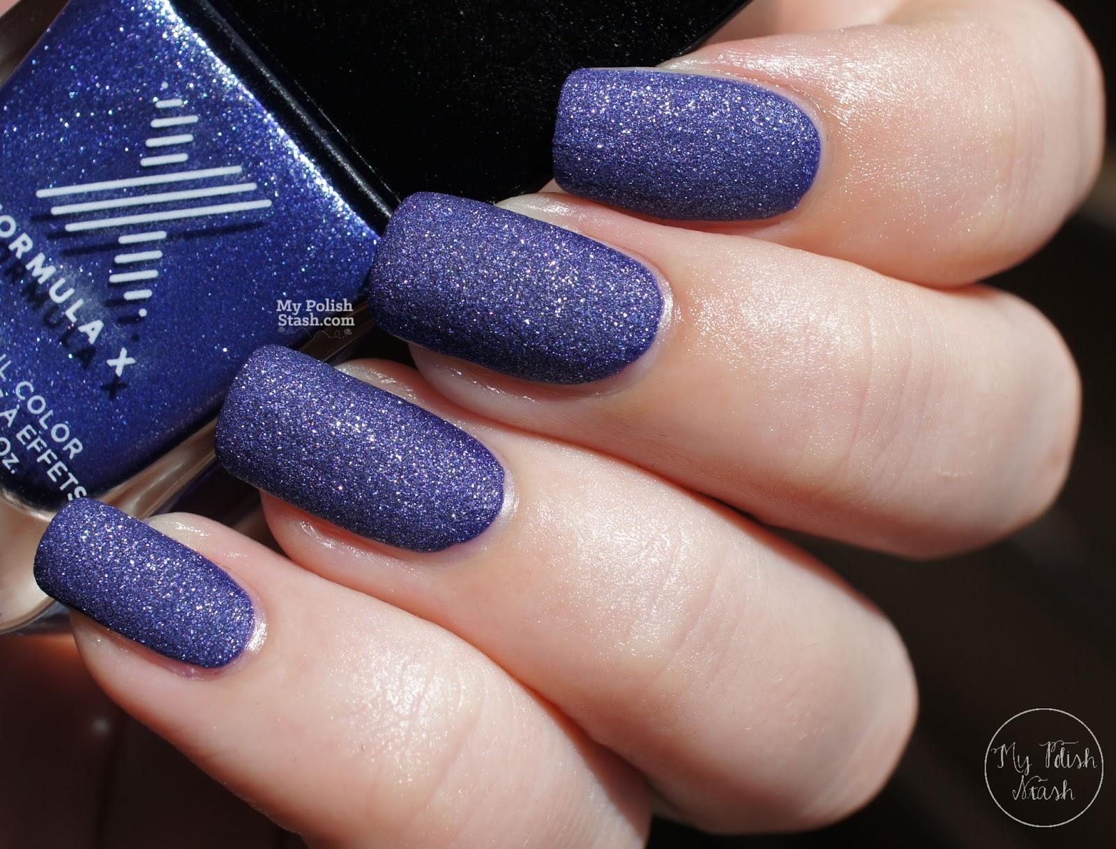 blue suede nail polish