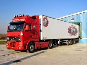 frozen and chilled meat transport