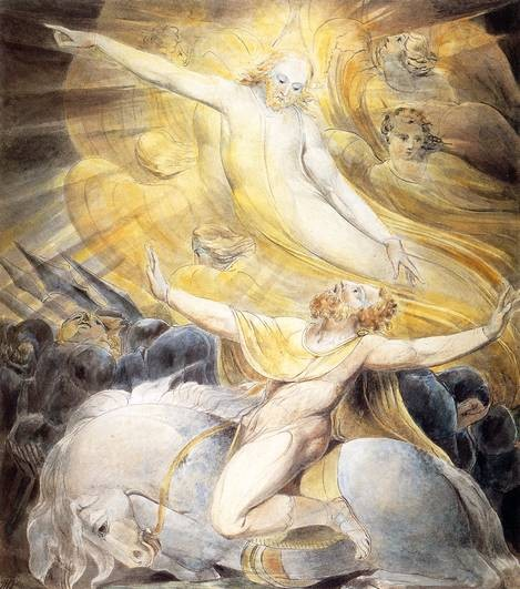 William Blake, the conversion of Saul