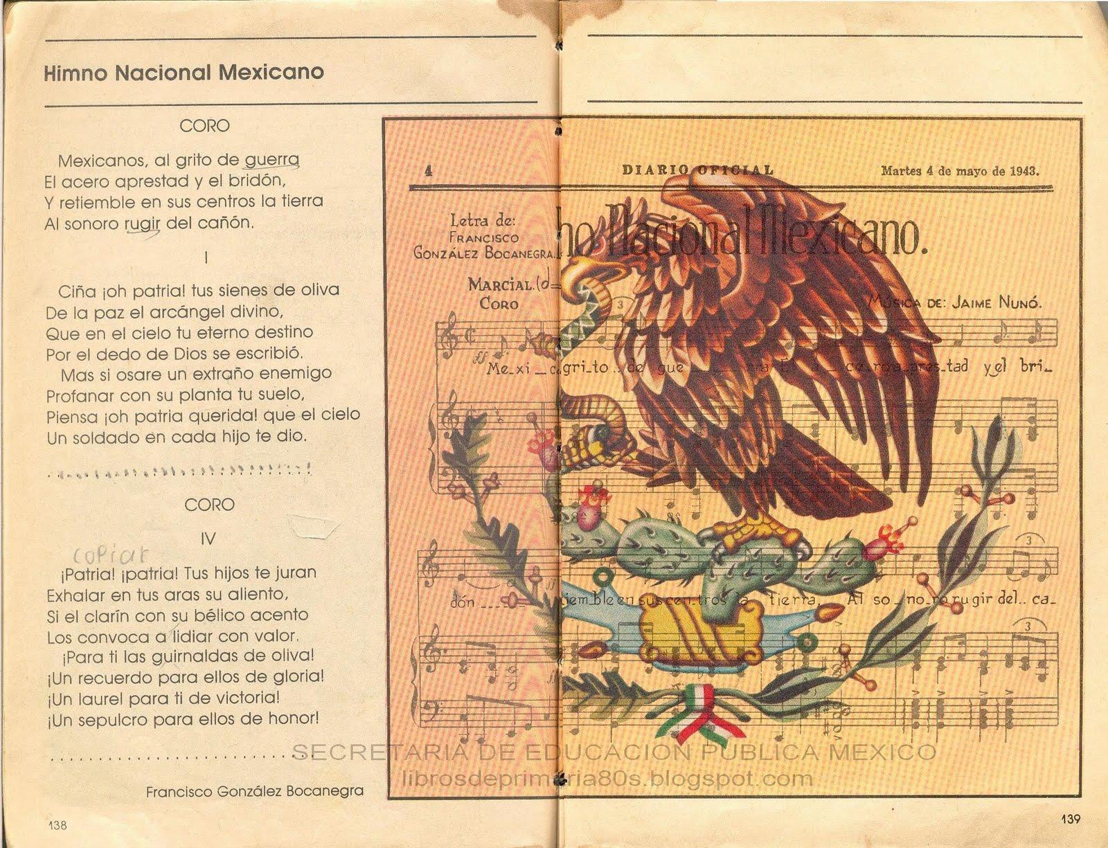 El Escudo Nacional De Mexico
