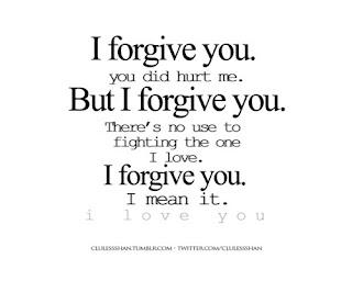 I Forgive You. You Did Hurt Me. But I Forgive You.   Letter a Studio