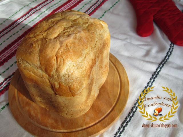 Френски хляб в хлебопекарна
