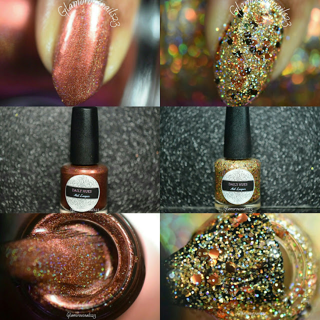 Daily Hues Nail Lacquer September/October Bi-Monthly Box Duo