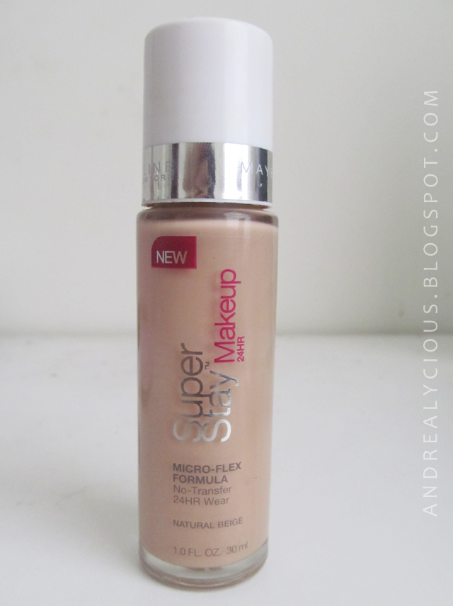 andrealycious ♔ : Super Stay Makeup 24hr (Natural Beige) Review