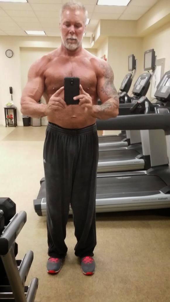Recent Photo of Ex-WWE Superstar Kevin Nash Looking Cut.