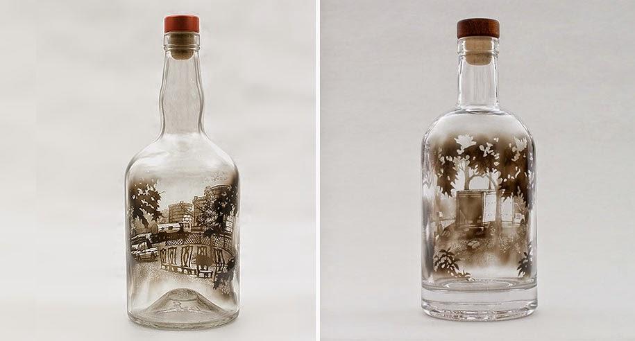smoke bottle drawings