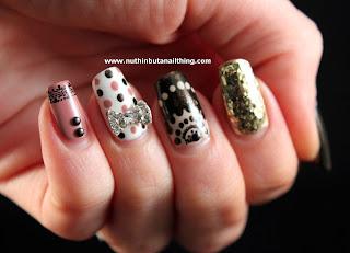 vintage nail art