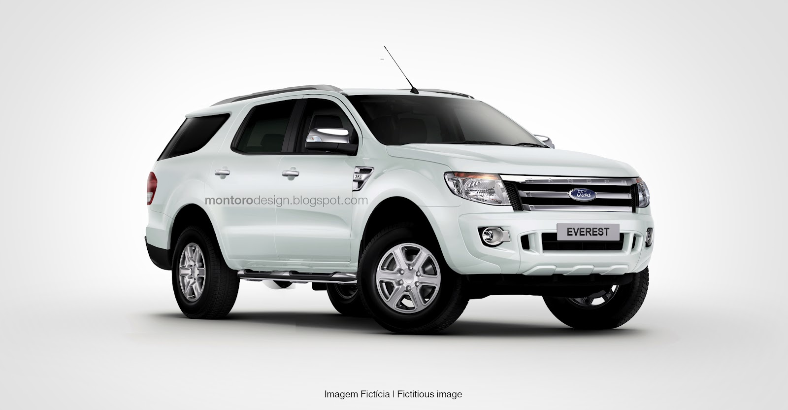Ford Everest looks like, well, it's 100000x better than the current