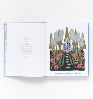 An Anna Bond illustration from Alice in Wonderland