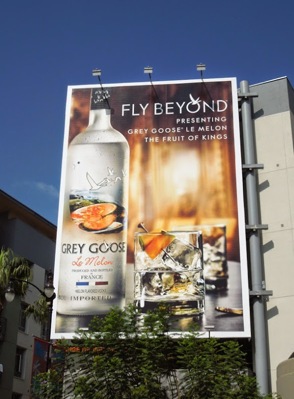 Grey Goose Le Melon vodka billboard