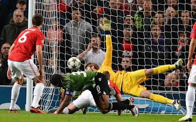 Manchester United 3-2 Braga