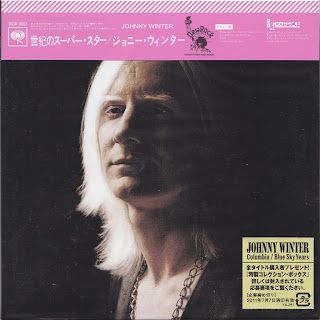 JOHNNY WINTER - JOHNNY WINTER (COLUMBIA 1969) Jap DSD mastering cardboard sleeve + 5 bonus
