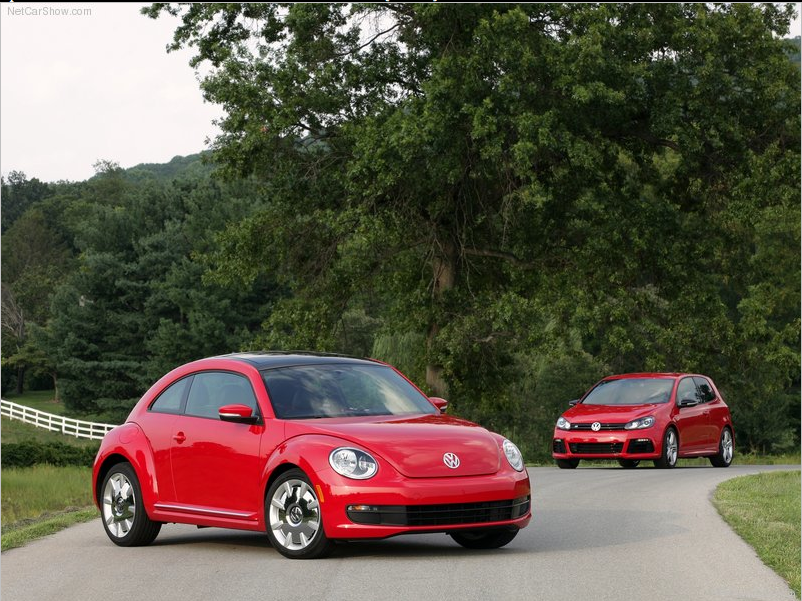 2012 Volkswagen Beetle No More Flower Vase Notes From The