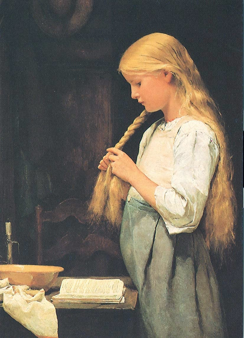 albert anker,children genre, painting review