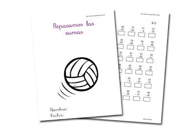 RECURSOS PRIMARIA | Fichas de sumas y restas con llevada ~ La Eduteca