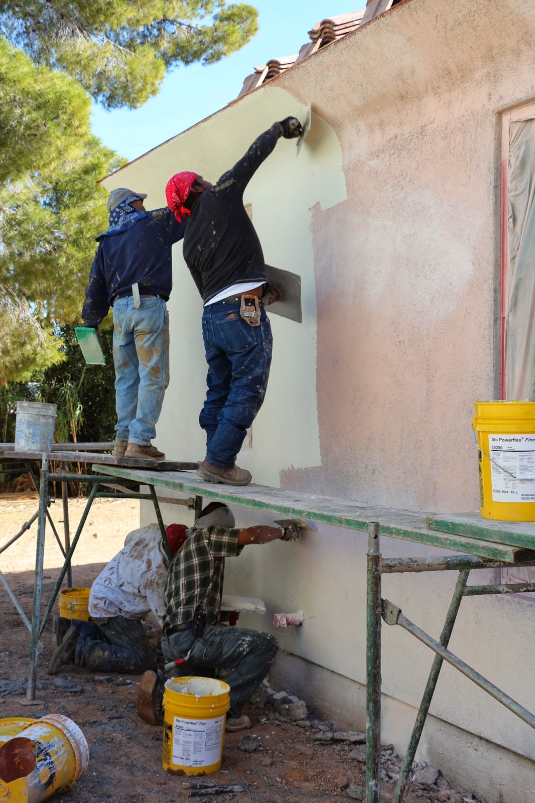 stucco elastomeric application