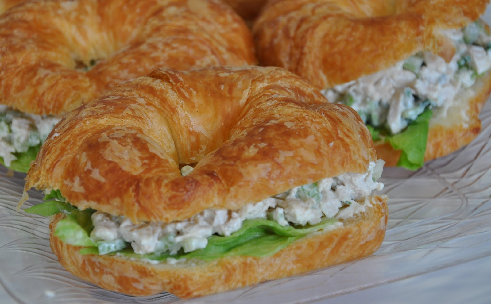 Not So Secret Family Recipes: Chicken Salad Sandwiches