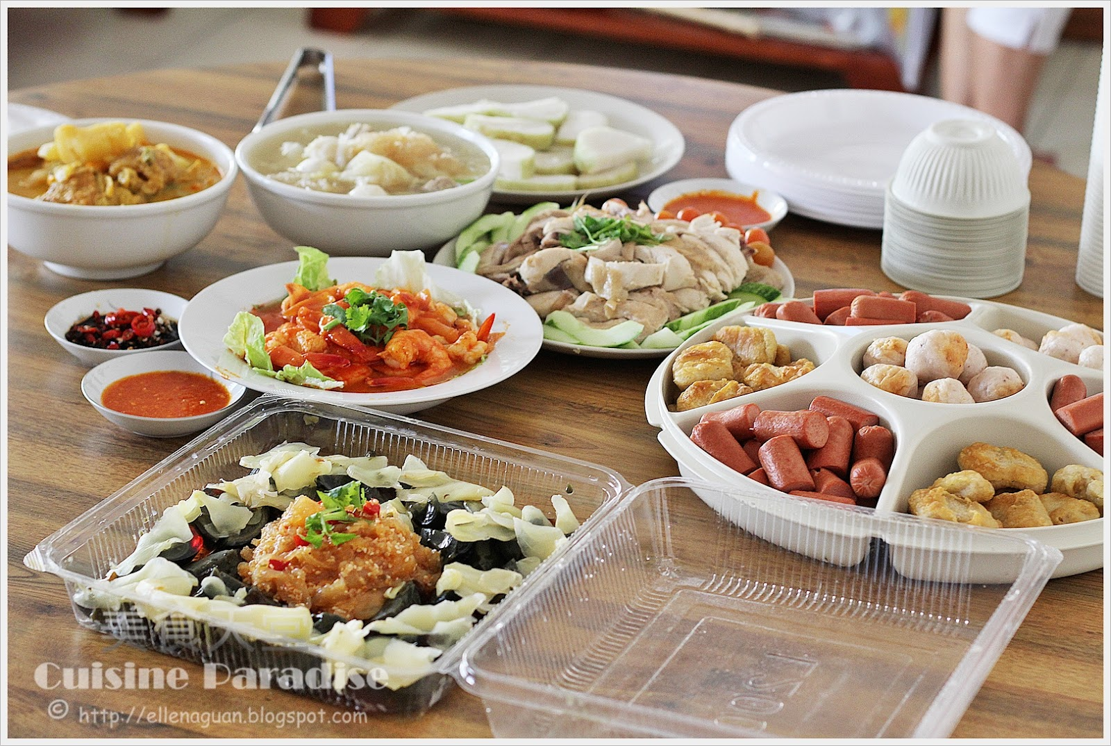 Cuisine paradise singapore food blog recipes reviews and travel cny dinner at 3rd uncle house forumfinder Image collections