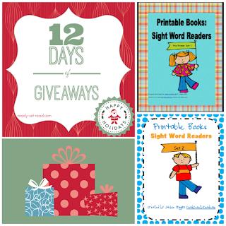 Giveaways, printable books