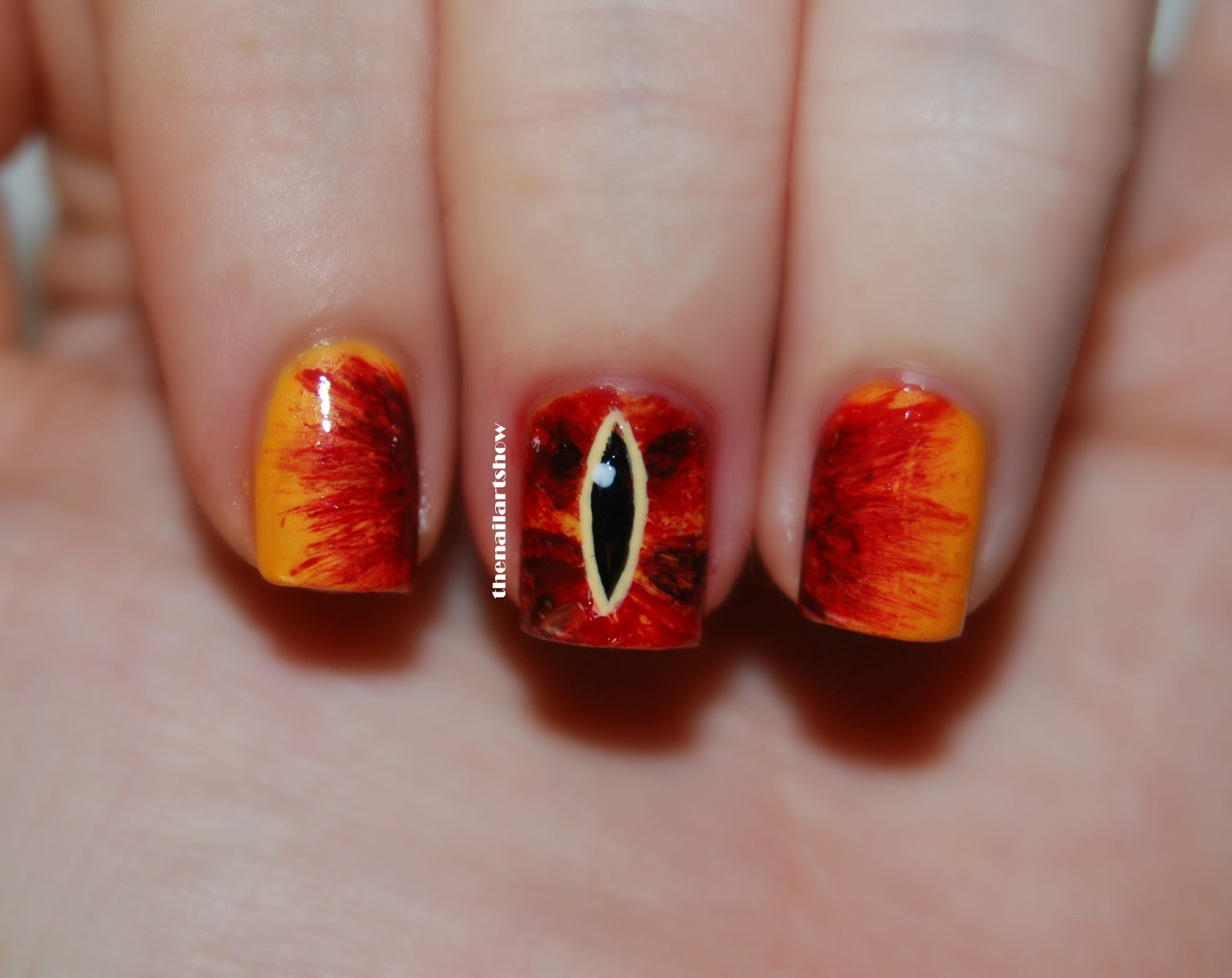 The Nail Art Show: Deadly Sins Challenge – Day 14: Pride (The Lord ...