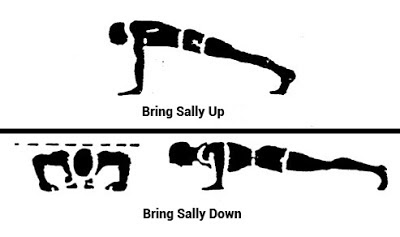 Push-Up Challenge - Bring Sally Up and Down