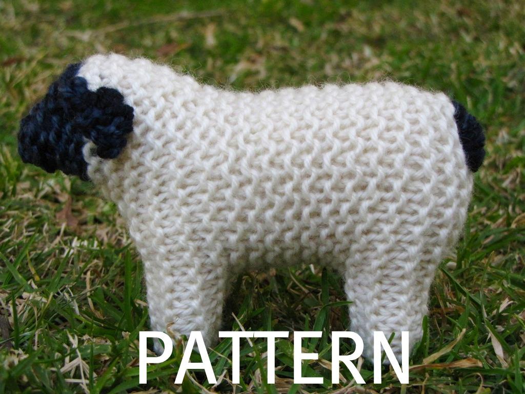 Perfecto Knit Sheep Pattern Componente - Manta de Tejer Patrón de ...