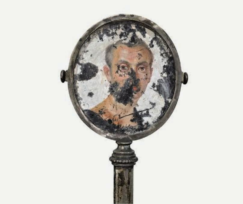 Retrato masculino. Primera mitad del siglo I dC. Museo Archeologico Nazionale di Napoli.