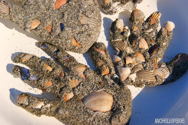 Sand Handprints